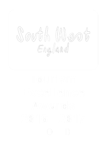 South West England Tourism Excellence Awards 2016-2017 Gold logo